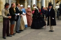 Queen Victoria greets house staff