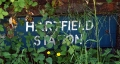 Old Hartfield Station Sign