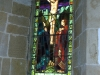 Stained glass at Pyecombe Church